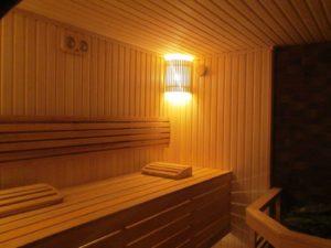 Семейная баня в частном доме с. Хотов