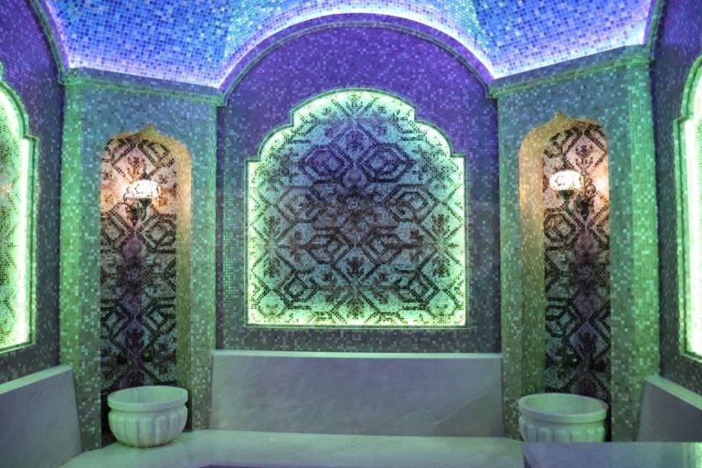 Хамам в Золоче - вид со входа