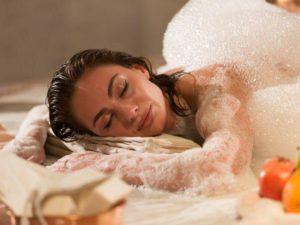 Секрет красоты мыльного массажа